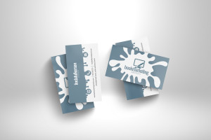 Business Card 3D mockup