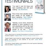 BMG Media Kit Testimonials page