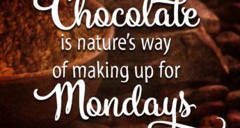 Quote for Chocolate Lovers