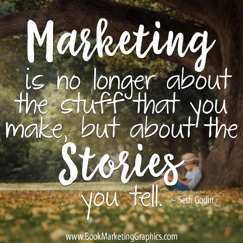Seth Godin storytelling quote