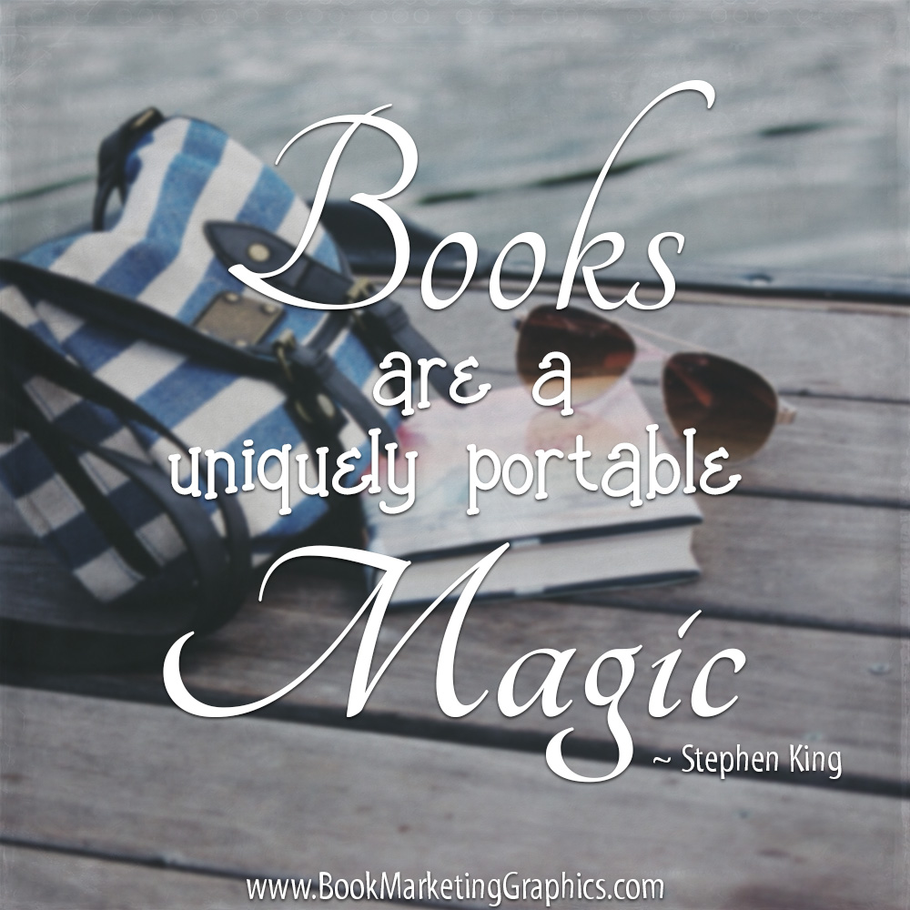 Stephen King Magic quote